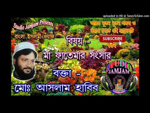 মা ফাতেমার সংসার -৯ Ma Fatemar Sansar Vol 9 ।। Waj Bangla New ।। Aslam Habib Saheb