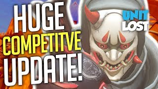 Overwatch News - HUGE Season 6 Competitive UPDATES! (MAJOR CHANGES!)