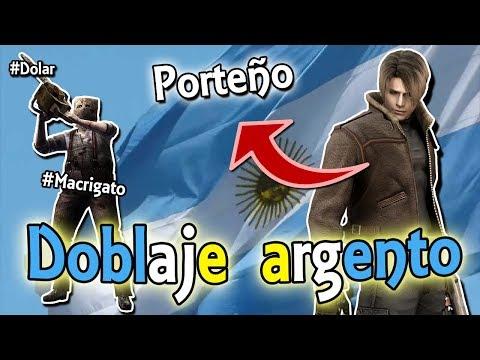 DOBLAJE NIVEL ARGENTO PAPA #MacriGato | Resident Evil 4 - Video Reacción GRACIOSO #1 100% ARGENTINO