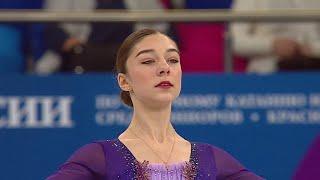 Анна Фролова Короткая программа Девушки Первенство России по фигурному катанию среди юниоров 2021