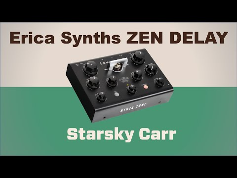 More an instrument than delay pedal // Erica Synths Zen Delay //review demo and walkthrough