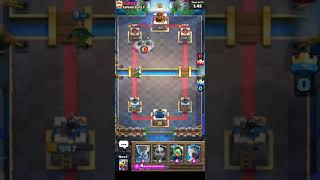 Ram Rider Bandit vs Battle Ram and Mega Knight Close match.