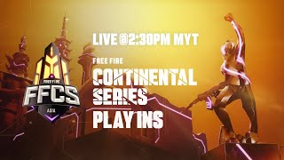 [BM] Free Fire Continental Series - Asia | Play-Ins