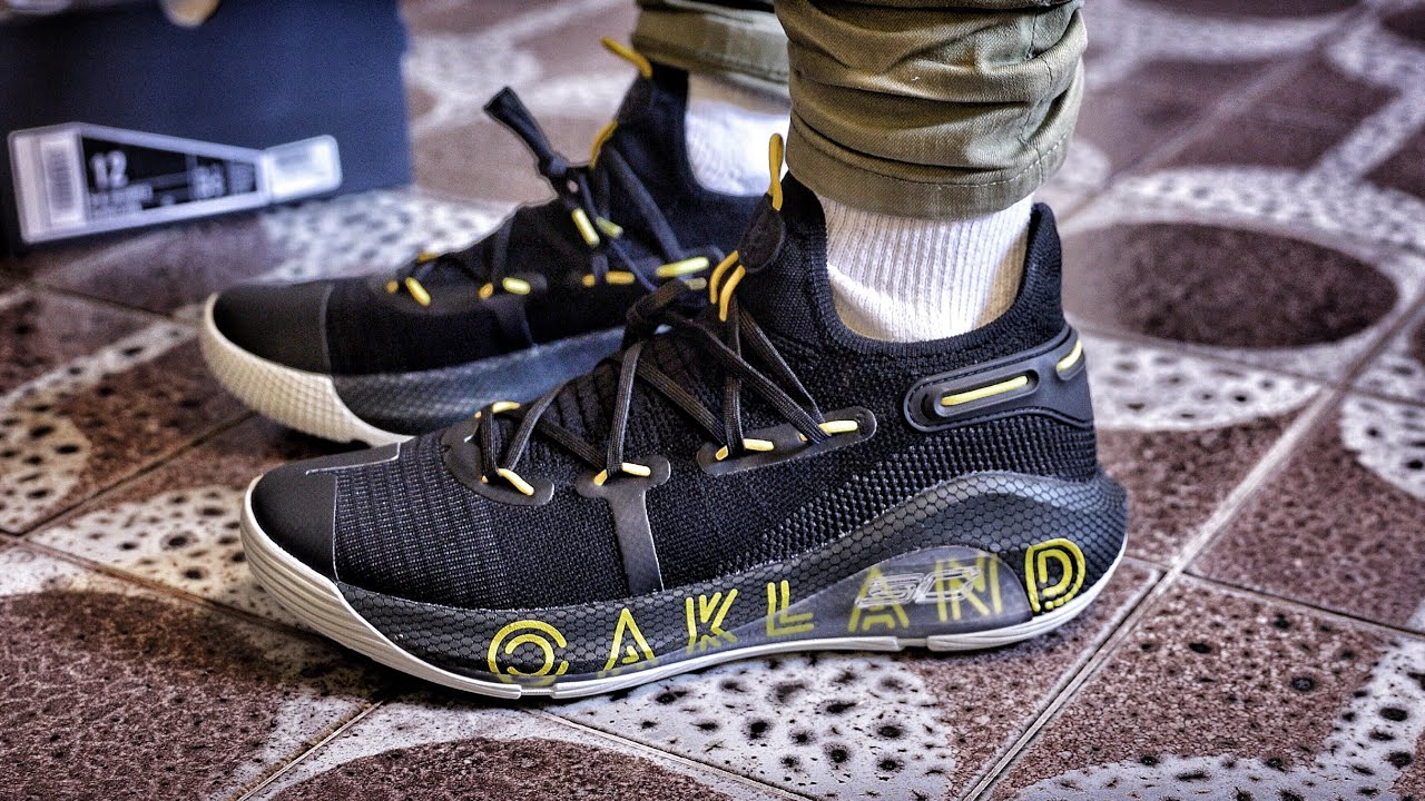 cb9ed0f3 Under Armour UA Curry 6 Thank You Oakland Sneaker Unboxing and On-Foot  Review