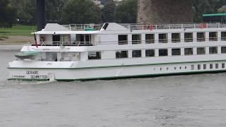 Hotelschiff  Gerard Schmitter auf dem Rhein