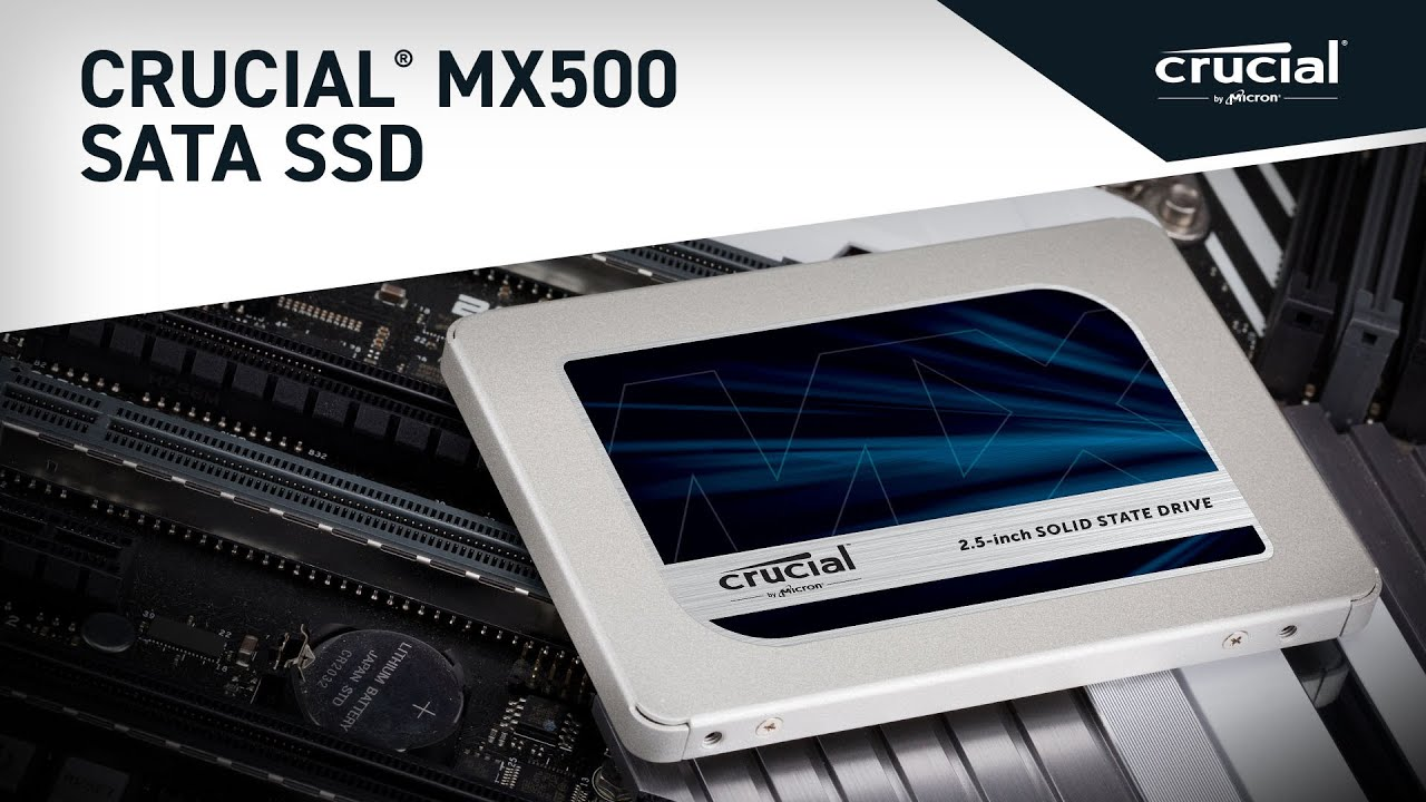 Crucial MX500 500GB SATA 2 5