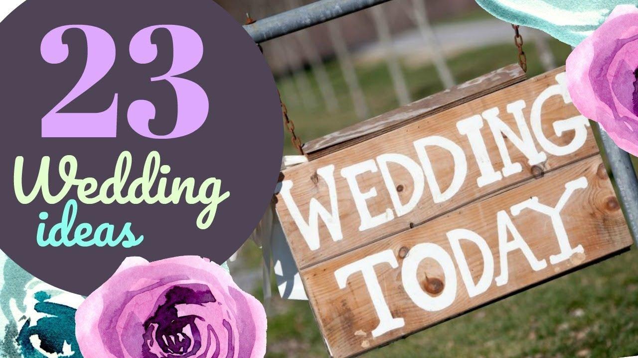 23 Wedding Ideas With Your Cricut