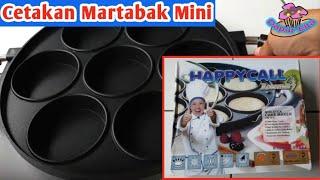 Unboxing dan Review Cetakan Happycall Lubang 7 Datar untuk Martabak Mini, Apem, Bika Ambon dll