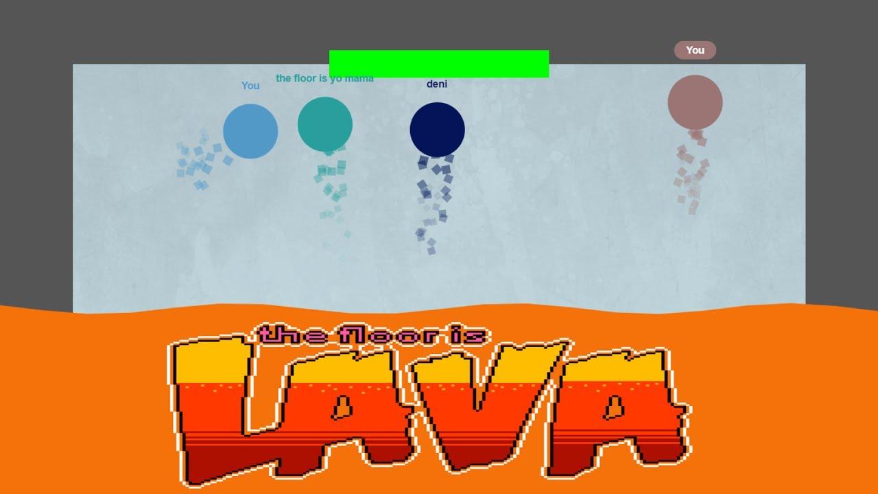 THE FLOOR IS LAVA.io (New .io Game) - YouTube