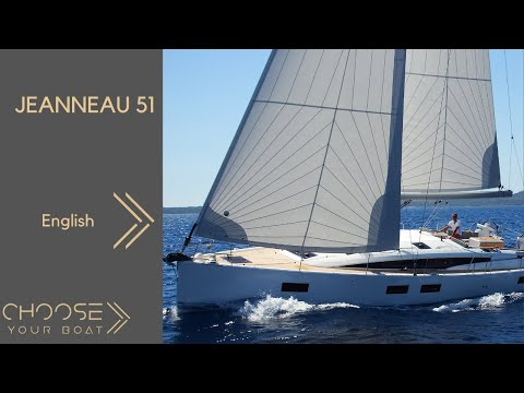 JEANNEAU 51: Guided Tour Video in English