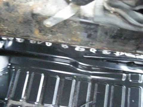 Floor pan removal and installation part 2