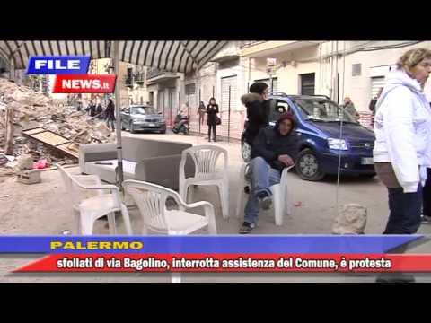 CROLLO PALAZZINA A PALERMO, UN MESE DOPO ED E' TENSIONE