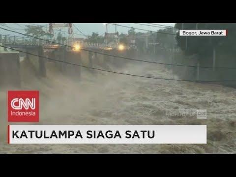 Breaking News! Jakarta Waspada Banjir, Katulampa Siaga I