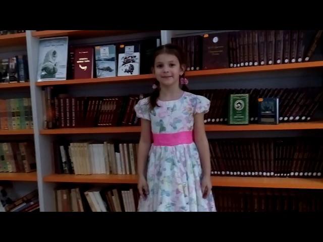 Изображение предпросмотра прочтения – АлександраПустовалова читает произведение «У кроватки» М.И.Цветаевой