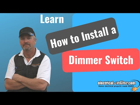 install a dimmer switch youtube. Black Bedroom Furniture Sets. Home Design Ideas