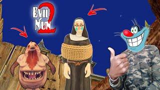 Nun Ka Gummy ? | Evil Nun 2 Horror Game With Oggy and Jack