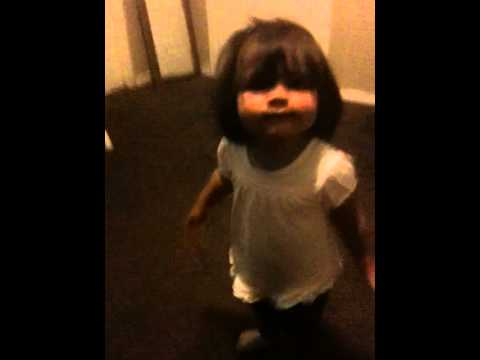 Allison Dancing to the Beat 1yr 4mths