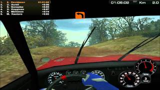 Rally Trophy:Gameplay-Kenya (Lancia Fulvia)