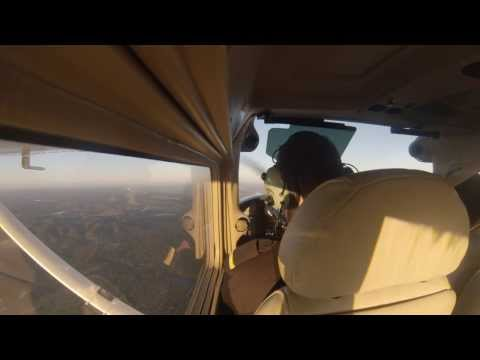 GoPro HD: Approaching LPSO - Ponte de Sor -  GAir Training Center