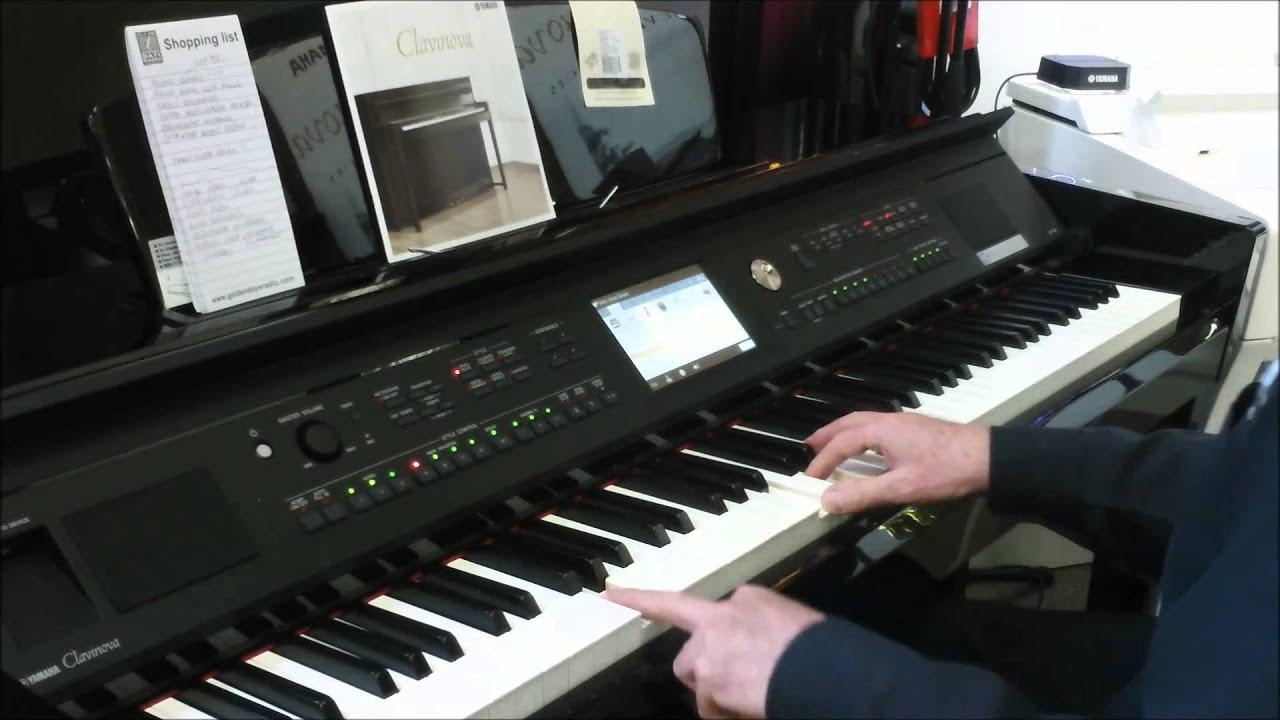 Yamaha Clavinova Digital Pianos CLP, CVP & Modus | Prestige Pianos