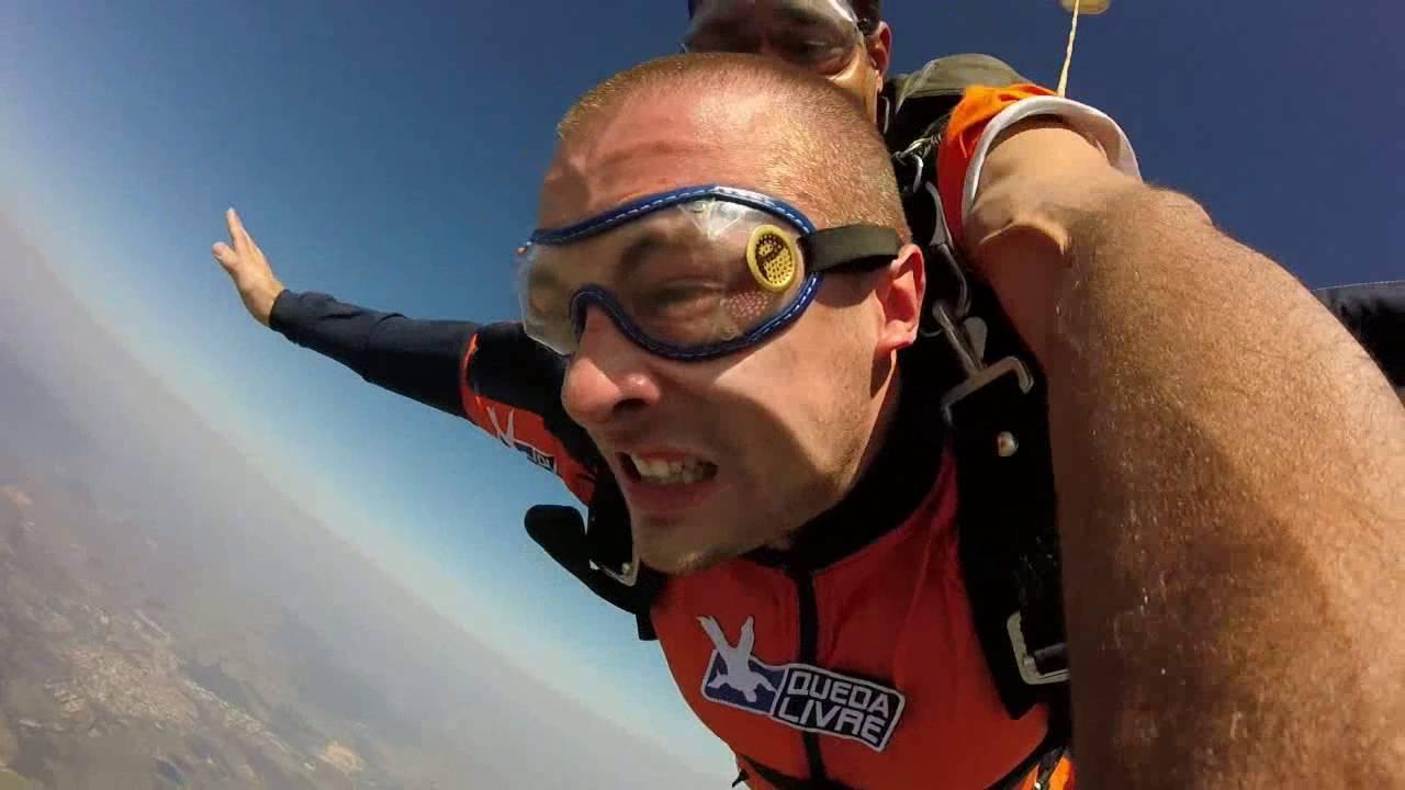 Salto de Paraqueda do Marcos V na Queda Livre Paraquedismo 30 07 2016