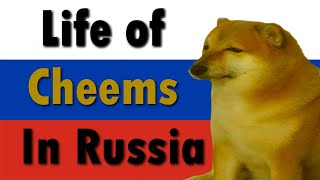 Life of Cheems in Russia