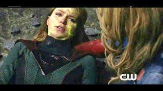 Supergirl 4x22 Red daughter save supergirl , die scene part 5