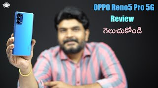 OPPO Reno5 Pro 5G Review in Telugu : Videography Expert With AI Highlight