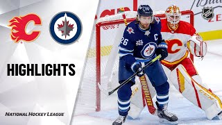 NHL Highlights | Flames @ Jets 1/14/21