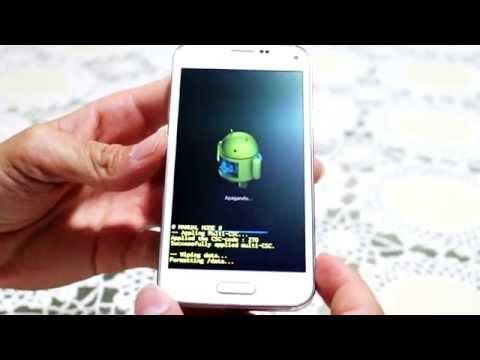 Como Formatar Samsung Galaxy S5 Mini G800 || Hard Reset, Desbloquear.  G-Tech