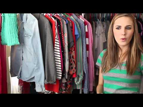 FASHION || closet decluttering tips