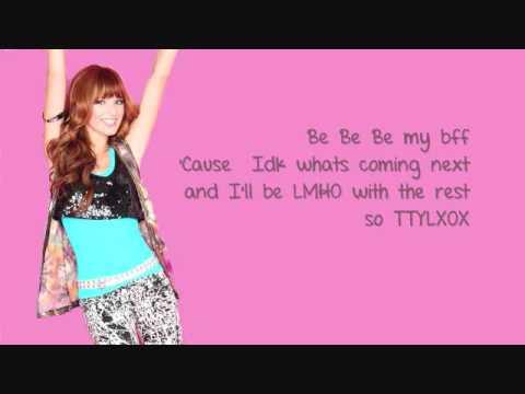 Download Bella Thorne - TTYLXOX Lyrics Video