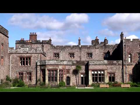 The UK Today - Visiting Muncaster Castle, Lake District, Cumbria England ( September 2016 )
