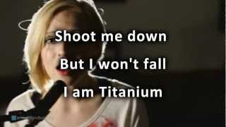 Repeat youtube video David Guetta - Titanium ft Sia cover by Madilyn Bailey with lyrics HD