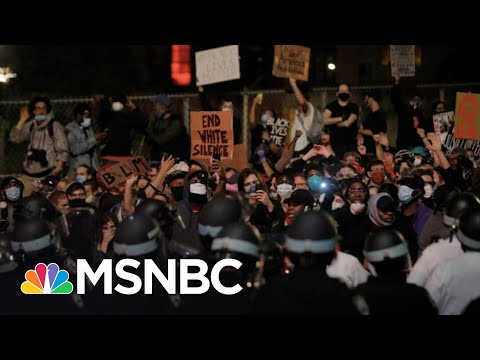 Protests Continue In New York Hours After 8PM Curfew | The 11th Hour | MSNBC