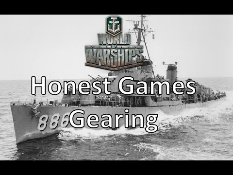 World of Warships - Honest Games - Gearing
