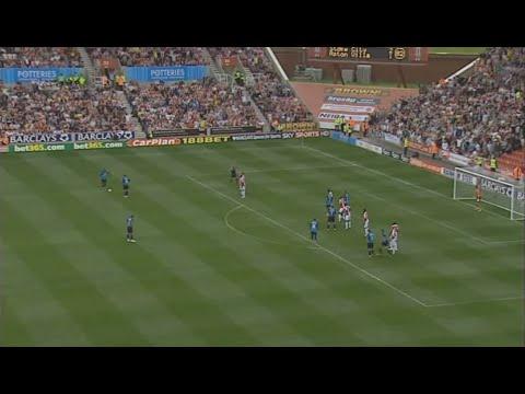 Stoke City 3-2 Aston Villa (2008-09)