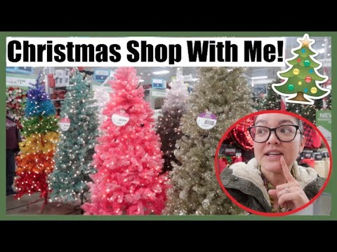 Christmas Tree SHOP WITH ME! Michael's, Hobby Lobby, At Home | November 19, 2018