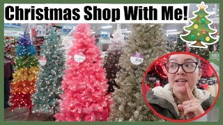 Christmas Tree SHOP WITH ME! Michael's, Hobby Lobby, At Home | ...