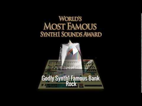 Godly Synth1 Famous Bank - Rock