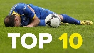 10 ridiculous football injuries