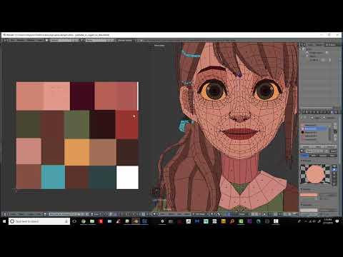 Easy UV Unwrapping w/ Texture Atlas - Blender Beginner Tutorial