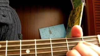 """""""Della And The Dealer""""  (Hoyt Axton) guitar lesson"""
