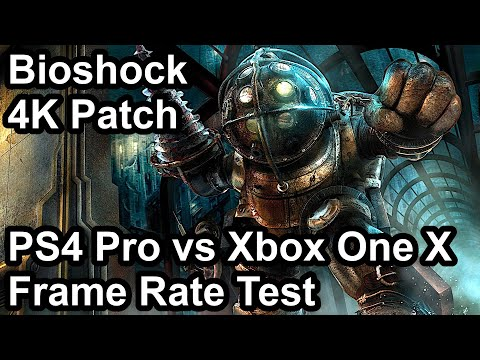 Bioshock PS4 Pro vs Xbox One X Frame Rate Comparison (4K Patch)