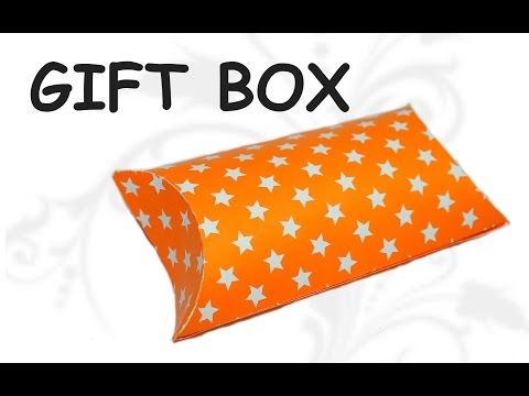 DIY crafts - how to make easy gift box / DIY beauty and easy
