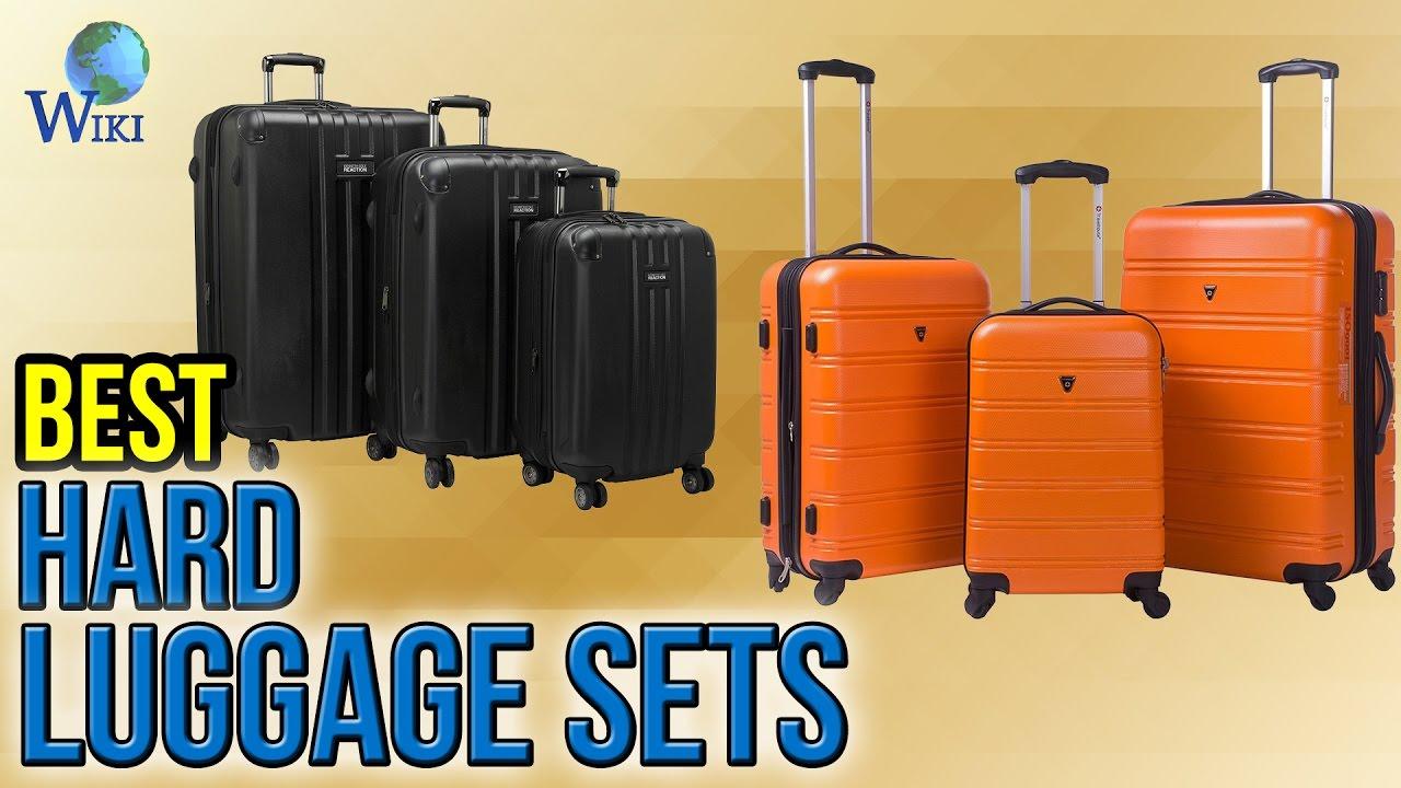 10 Best Hard Luggage Sets 2017 - YouTube