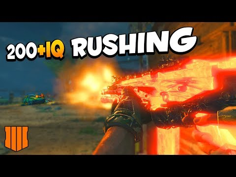 How to Rush with the VAPR in CoD BO4 | Rushing Smart