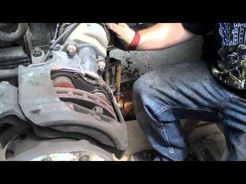 truck air disc brake pads replacing (how to replace pads on air disc brake)