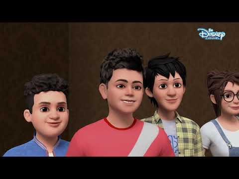 Super V | Virat's Adventures Part 1| Hindi Cartoons | Disney India