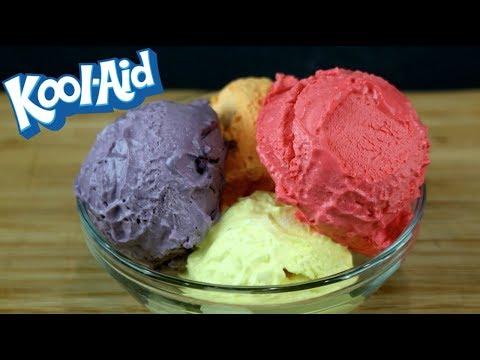 Kool Aid Ice Cream | How to Make Homemade Kool-Aid Ice Cream